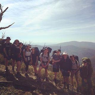 Bentleigh future makers are almost finished their 5day hike Hellohellip