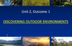 Discovering Outdoor Environments