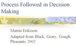 ProcessesDecisionMaking