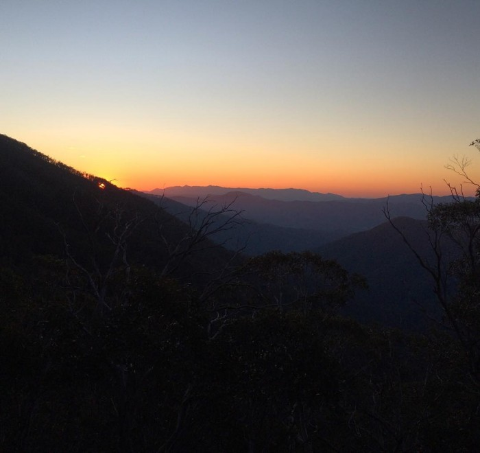 mtbuffalo mtbogong futuremakers sunset from camp4 group1