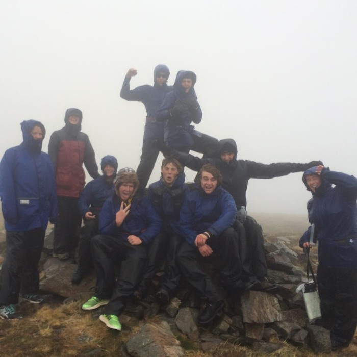 Mt nelse summit 16 complete A little damp 6summits rutherglengroup2withJP