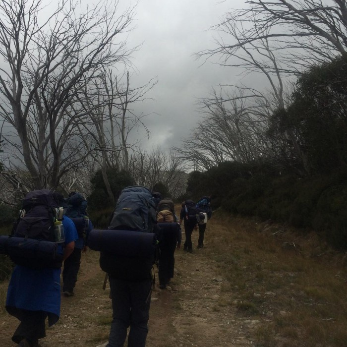 Ominous clouds for the start of our journey 6summits rutherglenfuturemakersgroup2withJP