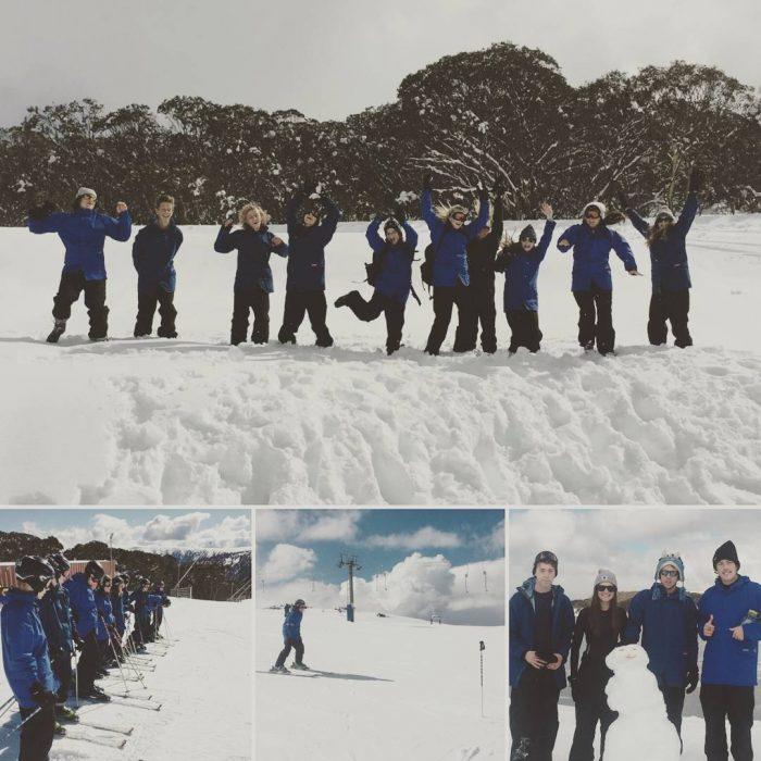 Last weeks students from whittlesea amp maryborough loving the Alps!hellip